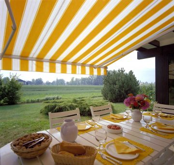 Awnings are an effective way to keep cool